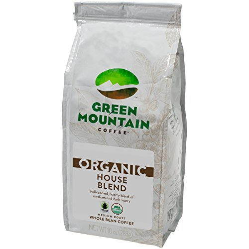 Green Mountain Coffee Straightforward Trade Organic House Blend, Ground, 10 Ounce Bag