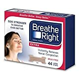 Breathe Right Extra Tan Nasal Strips - Multii pack of 88 Counts Total