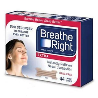 Breathe Right Extra Tan Nasal Strips (1 Pack (88 Count Total))