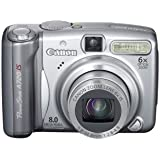Canon PowerShot A720IS 8MP Digital Camera with 6x Optical Image Stabilized Zoom (OLD MODEL)