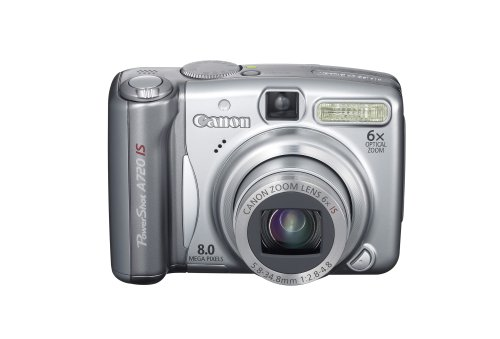 Canon PowerShot A720IS 8MP Digital Camera with 6x Optical Image Stabilized Zoom (OLD -