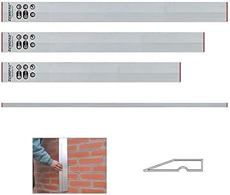 1m-1,2m-1,5m-1,8m-2m Trapez-Kartätschenset Abziehlatte Kartätsche ALU