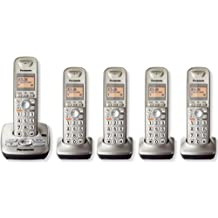 Panasonic KXTG4225N DECT 6.0 5-Handset High Quality Phone System with Answering Capability