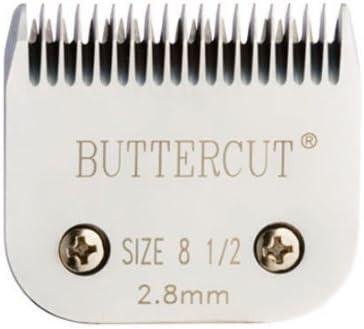 Geib Buttercut Stainless Steel Dog Clipper Blade, Size-8-1/2, 7/64-Inch Cut Length