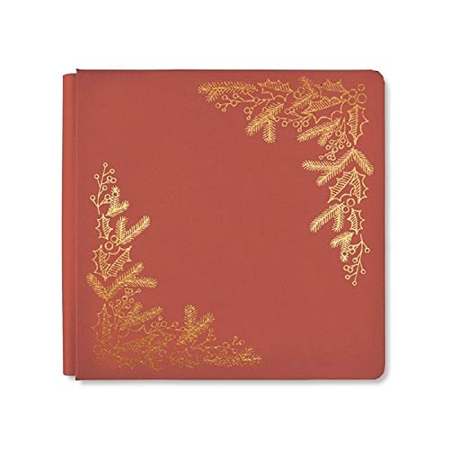 (12x12 Antique Red Season's Greetings Album Cover)