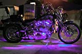 Uv Purple Motorcycle LED Neon Accent Lighting Kit