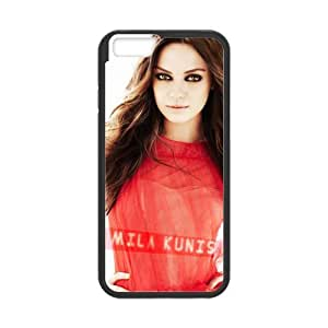 iPhone 6 Case, [Mila Kunis] iPhone 6 (4.7) Case Custom Durable Case Cover for iPhone6 TPU case(Laser Technology) by mcsharks