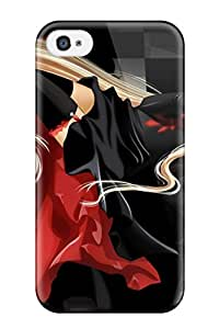 Hot Tpu Cover Case For Iphone/ 4/4s Case Cover Skin - Chobits