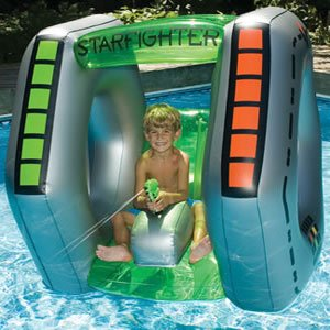 StarFighter Super Squirter Swimming Pool Spaceship