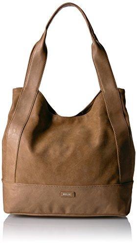 Relic Women's Reagan Tote Bag Tan [並行輸入品] B07FDQSZ5L