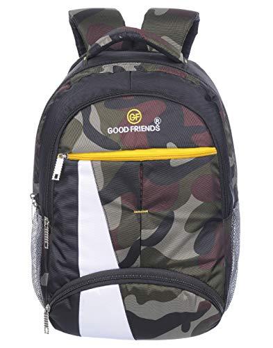 Good Friends Stylish  Secondary 3rd Std Plus  Waterproof School Bag