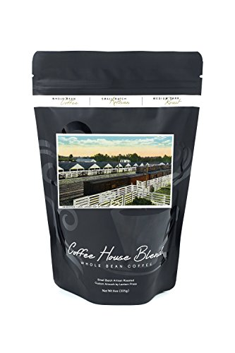 Lancaster, Pennsylvania - View of the Union Stock Yards, Largest East of Chicago (8oz Whole Bean Small Batch Artisan Coffee - Bold & Strong Medium Dark Roast w/ (Pennsylvania Stock)