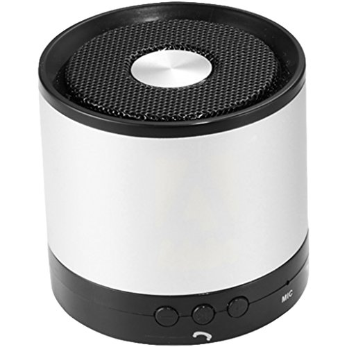 Avenue Greedo Bluetooth Speaker (2.2 x 2.3 inches) (Silver) by Avenue