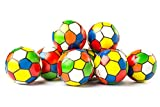 Neliblu Bulk 1 Dozen 3'' Multi Color Squeeze Stress Ball Stress Relief Balls By