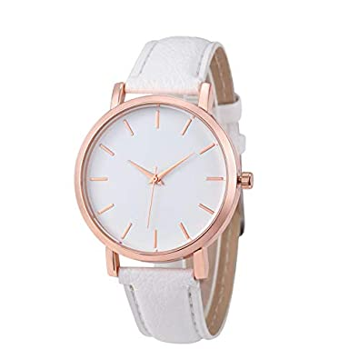 Fashion Unisex Montre Femme Reloj Mujer Leather Stainless Mens Watch Wholesale Quartz Wrist Watches Women Hot