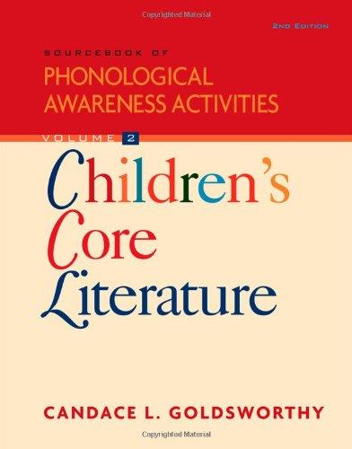 Sourcebook of Phonological Awareness Activities, Volume II: Children's Core Literature