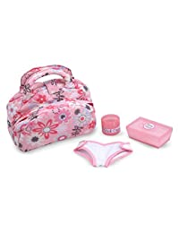 Melissa & Doug Mine to Love Doll Diaper Changing Set With Bag, Wipes, Accessories (7 pcs) BOBEBE Online Baby Store From New York to Miami and Los Angeles