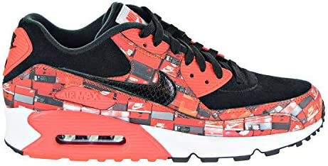 Nike Mens Air Max 90 Print Running Low Top Athletic Shoes