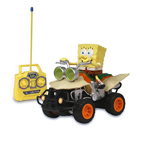 NKOK R/C SpongeBob ATV Vehicle, Yellow
