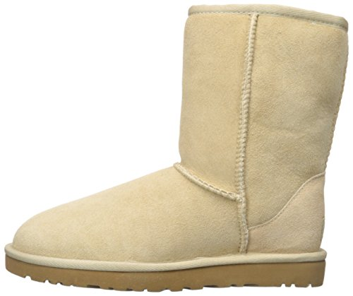 Womens Ankle Button Ugg Boots Bailey Mini Beige W's 7dqnxPw6f