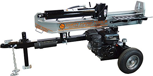 Dirty Hand Tools 100342 28 Ton Horizontal/Vertical Gas Log Splitter, 277cc Kohler CH395 Engine by Dirty Hand Tools