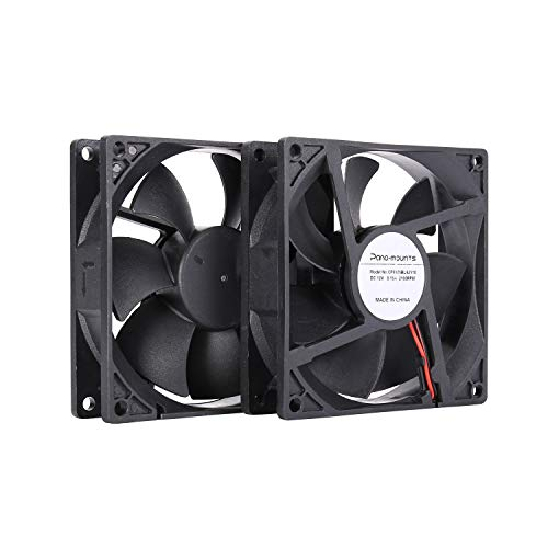 Ventilador 90mm 92mm Computer Pc Case Fan 2 Wire 3pin 12v Dc
