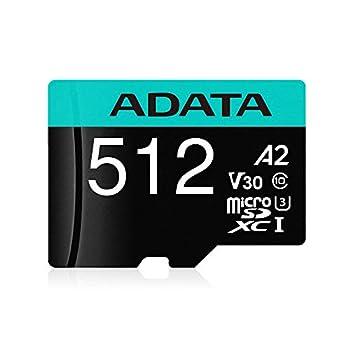 Image of ADATA 512G MICROSDXC Uhs-I U3 Class 10