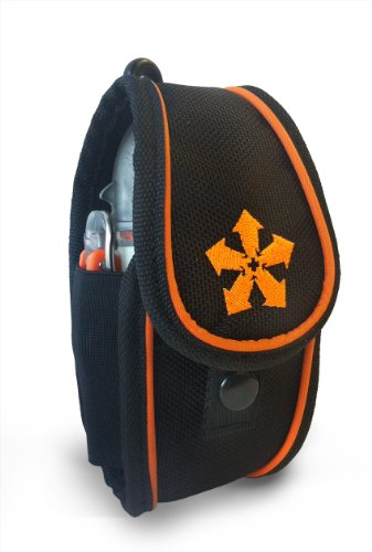 Nautilus Lifeline Pocket Pouch (Black and Orange) primary