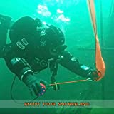 Seafard 4ft Red Scuba Diving Open Bottom Surface