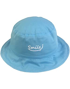 Baby Girls Boys Infant Reversible Summer Bucket Fishing Hats