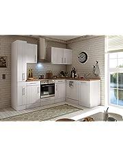 respekta Kuchnia kątowa kuchnia w kształcie litery L kuchnia wiejska kuchnia biała 250 x 172 cm