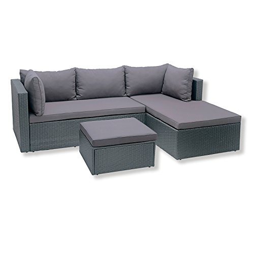 ROLLER-Lounge-Sitzgruppe-grau-inklusive-Kissen