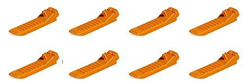 Lego Parts: #630 Classic Brick Separator (Orange, Pack of 8) (Legos Parts)