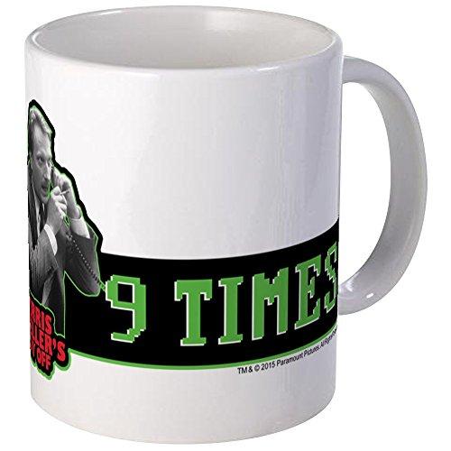 CafePress Ferris Bueller's Day Off - 9 Times Mug Unique Coffee Mug, Coffee Cup