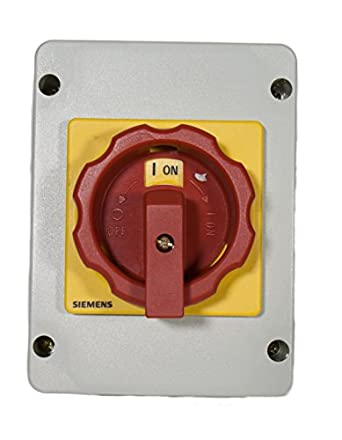 siemens 3ld2161 0tb53 disconnect switch rotary 3 phase. Black Bedroom Furniture Sets. Home Design Ideas