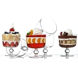 Luigi Bormioli Michelangelo Masterpiece Individual Trifle Bowls, Set of 6
