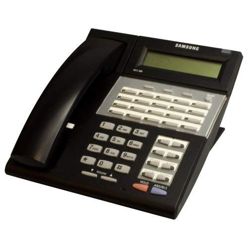 Samsung iDCS 28D Keyset Samsung FAL28LCD Falcon 28 Button Display Speakerphone (Black) (Certified Refurbished) (Display Speakerphone)