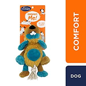 Total Care Fluffy Floppy Dog Toy