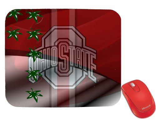 NCAA Ohio State University Ohio State Buckeyes Mouse Pad by (Ohio Athletic Shorts)