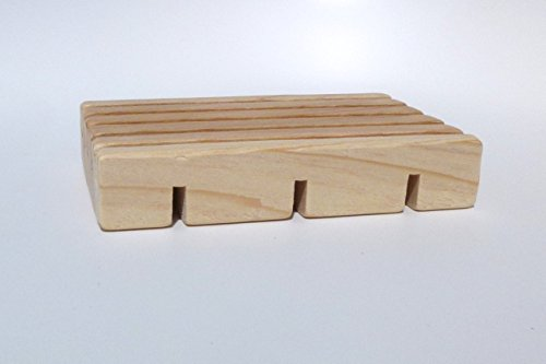 Solid Cypress Soap Dish - Wood Cypress