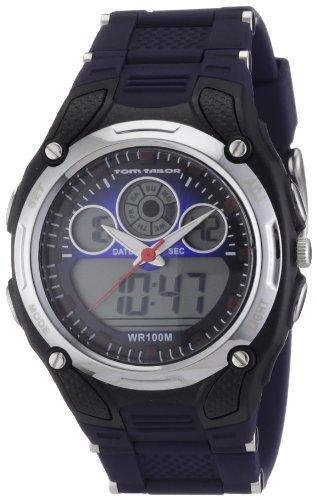TOM TAILOR Herren-Armbanduhr XL Analog - Digital Plastik 5407702