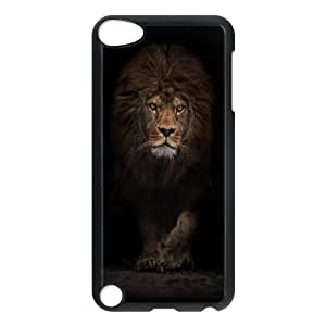 iPod Touch 5 Case Black iOS8 Animals 744b LSO7885182