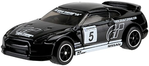 Hot Wheels Retro Entertainment Gran Tourismo 2009 Nissan GT-R (Black) Die-Cast Vehicle 5/5