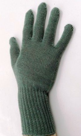 Military/Tactical Items,Cold Weather Glove / Inserts,100% Wool, Foliage Green (1, Medium) (Green Insert)