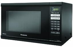 Panasonic NN-SN651BAZ Black 1.2 Cu. Ft Countertop Microwave Oven with Inverter Technology