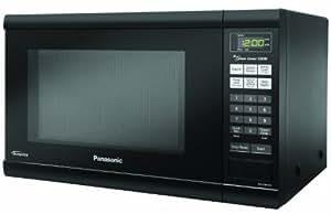 Panasonic NN-SN651B Countertop Microwave with Inverter Technology, 1.2 cu. ft., Black