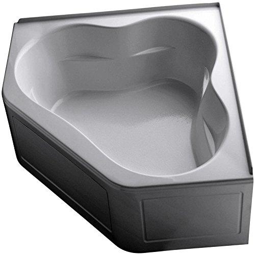 Acrylic Kohler Bathtub Corner (KOHLER K-1161-LA-0 Tercet Bath, White)