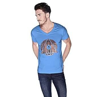 Creo Jordan T-Shirt For Men - L, Blue