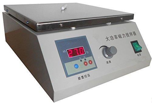 Marca Nueva superpotencia termostático Agitador magnético Agitador mezclador de laboratorio termostáticas Digital hotplate...