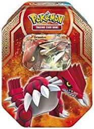 Pokémon - Caja metálica (Groudon ex-pv. 180): Amazon.es: Juguetes ...
